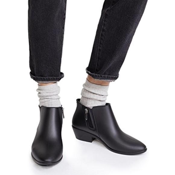 0789a3ea40124a NEW • Sam Edelman • Petty Ankle Rain Boot Black